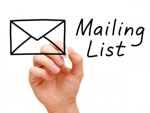 Modulo Mailing list